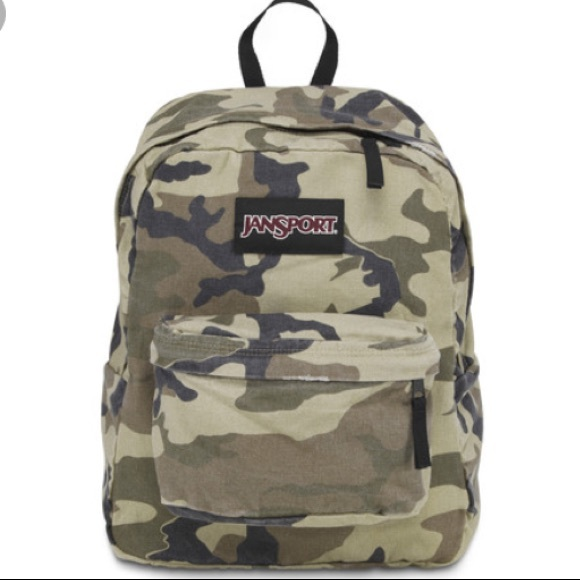 25% off Jansport Other - Jansport Camo BackPack from Bougie's ...